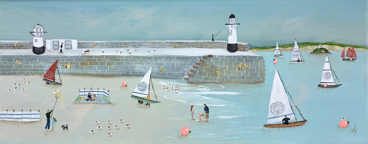 This Little Light of Mine by lucy young -  sized 20x8 inches. Available from Whitewall Galleries
